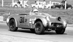 Me in my 1961 Austin Healey Sprite Mk 1. On the way to winning the 1967 British Automobile Racing Club Ontario Championship. Much fun!