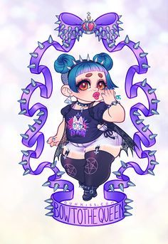 fat pastel goth - Google Search