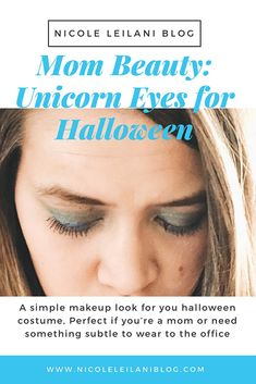 An Easy Halloween Makeup Look for Moms or anyone that needs subtle but festive makeup for their Unicorn Halloween Costume Beauty Tips In Hindi, Beauty Tips For Skin, Natural Beauty Tips, Beauty Hacks, Unicorn Halloween Costume, Easy Halloween, Halloween 2018, Beauty Routine Checklist, Beauty Routines