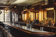 DWD Johnson • dieselfutures: Art Deco Bars