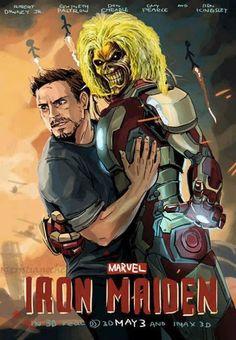 El Descanso del Escriba: Muy Iron y muy Maiden para Tony Stark