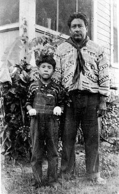Robert Billie and his son by State Library and Archives of Florida, via Flickr