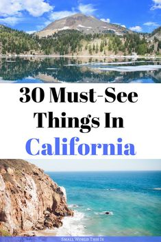 30 Must-See Things In California From the beautiful coastline of Malibu to the mysterious desert landscape of Joshua Tree, here's where you need to visit when you're in California Best Travel Guides, Usa Travel Guide, Europe Travel Tips, Travel Usa, California California, California Vacation, Northern California, Best States To Visit, Sacramento River