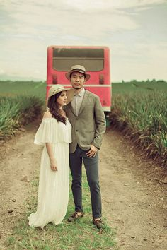 A Vintage-Inspired Outdoor Engagement Shoot in South Cotabato Bride And Breakfast, Love Photography, Engagement Shoots, Wedding Blog, Philippines, Vintage Inspired, Rv, Romantic, Couple Photos