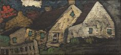 Houses by Marc-Aurèle Fortin Artwork, Artist, House, Painting, Work Of Art, Home, Artists, Painting Art, Haus