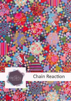 Chain Reaction by Jen Kingwell - pattern at eQuilter