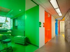 Implantlogyca Dental Office Interiors by Antonio Sofan Architect in USA
