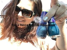 Beach Ombre Nails with Kylie Denim & Bling Collection | Go Country Living