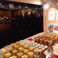 Busy selling candles at the Christkindlemarkt in Radolfzell, Germany. www.apidaecandles.de