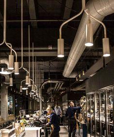 Chandeliers Special Versions - RUBN Stockholm City, Historical Architecture, Restaurant Design, Track Lighting, Facade, Chandeliers, Restaurants, Interiors, Interior Design