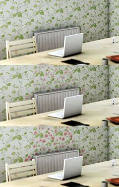 heat sensitive wall paper