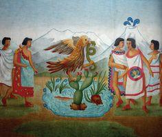 La Gran Tenochtitlan Fundada en 1325 por los Mexicas o Aztecas