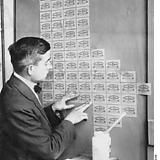 Using banknotes as wallpaper during Hyperinflation, Germany 1923