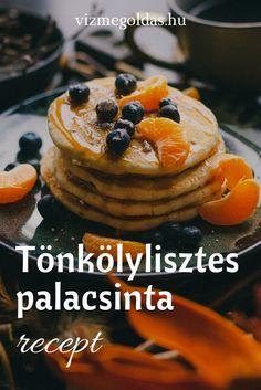 Egészséges reggeli - Tönkölylisztes palacsinta recept Waffles, Pancakes, Healthy Recipes, Healthy Food, Cheesecake, Breakfast, Desserts, Health Recipes, Health Foods