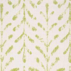 Kaftor Leaf Apple. Available printed on linen, cotton, cotton linen blends. © Ellen Eden