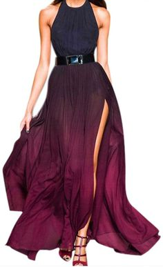 One Dance Sheer Backless Maxi Dress