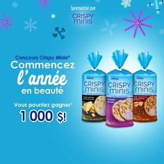 Concours Crispy Minis® Commencez l'année en beauté