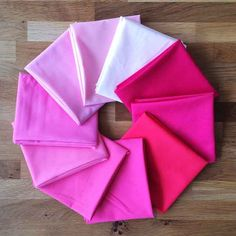 May 2015 Colour of the Month Club solids bundle from The Village Haberdashery