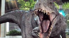JURASSIC WORLD VFX Breakdown - Indominus Rex (2015) Chris Pratt Sci-Fi M... Jurassic World 2015, Indominus Rex, Chris Pratt, Sci Fi Movies, Dinosaurs