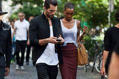 Tobias Sorensen and Jasmine Tookes