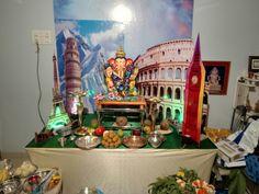 We Take Ganpati Decor Work . +91-9930121461