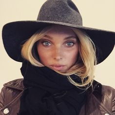 Elsa Hosk is Victoria's Secret's latest Angel. Photo via Instagram