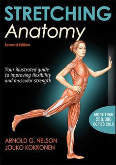 Stretching Anatomy, Second Edition, is a visual guide to 86 stretches for increasing range of motion, muscular strength, stamina, posture, and flexibility. Step-by-step instructions describe how to perform each stretch, while 110 full-color anatomical illustrations highlight the primary muscles and surrounding structures engaged.