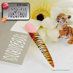 XTR1004 Klebeschablonen - LENZ art products - Kreativ von A-Z Nailart, Design, Products, Creative, Gadget