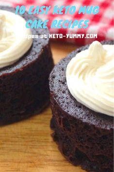 Love cake? So for sure you´ll get addcit with these 10 Easy Keto Mug CaKe Recipes! #ketocake #ketomugacake #ketodesserts #ketorecipes #lowcarb