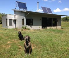 Modern Off Grid Prefab House Equalizes Solar And Saves A Kitten.