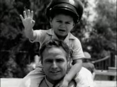 Marlon and his son Miko #Brando