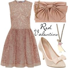 """""""Red Valentino"""" by missloulouxx on Polyvore"""