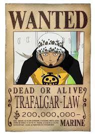 Trafalgar Law bounty at the sabaody archipeal - one piece #worst generation #anime