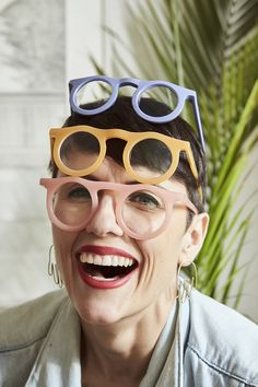 Design Milk speaks to eyewear brand Carla Colour founder Carla Robertson about quickly starting her own business how Squarespace makes it easier. Beautiful Sites, Beautiful Pictures, Lv Handbags, Pretty Eyes, Album Covers, Women's Accessories, Eyeglasses, Eyewear, My Design