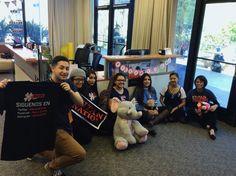 RedesESPN visiting CSUF 3.8.16 #CSUF #TitanShops #redesespn #TusksUp #CRC