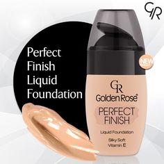 Yeni Perfect Finish Liquid Foundation özel formülündeki besleyici bileşenler ve antioksidan Vitamin E ile cildini nemlendirir, korur, canlı ve pürürzsüz bir görünüm kazandırır. http://goldenrosestore.com.tr/perfect-finish-liquid-foundation.html
