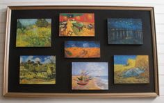 Upcycled Wall ArtVincent Van Gogh Collage  Unique by AtticJoys1, $88.00
