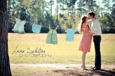 Maternity! baby clothesline