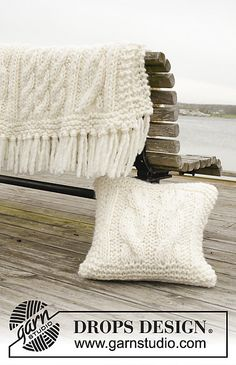 Ravelry: 163-2 Frosty Cables pattern by DROPS design