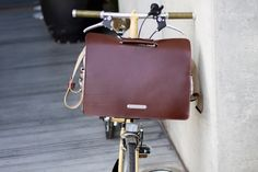 Brook's Moorgate leather bag for Brompton @SlowroomMadrid