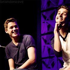 Jack and Finn gif