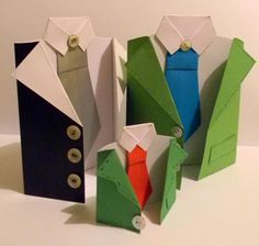 Easy paper crafts ideas for kids help create beautiful Fathers Day cards which add nice details to Fathers Day table decor and brighten up Fathers Day gifts. Simple and creative Fathers Day cards turn any gift idea into a meaningful and very special present. All small gifts look impressive and inter
