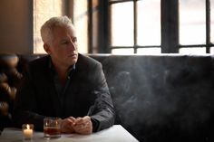 John Slattery at Rialto Cafe in NYC photographed by Hayley Sparks.