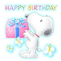 Happy Birthday with Snoopy - Bild Happy Birthday, Snoopy Birthday, Happy Birthday Pictures, Birthday Clips, Birthday Posts, Birthday Fun, Happy Birthday Wishes Cards, Happy Birthday Quotes, Happy Birthday Wallpaper
