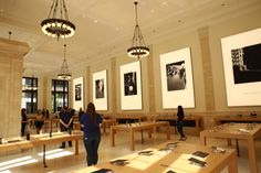 On Saturday Apple will open its sixth location in New York City on the Upper East Side of Manhattan. It& located at 940 Madison Avenue, between and. Upper East Side, Madison Avenue, Retail Space, Store Design, Signage, Architecture, Apple, Interior, Dark Cloud