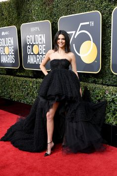 All the Glamorous 2018 Golden Globes Red Carpet Arrivals - Kendall Jenner from InStyle.com