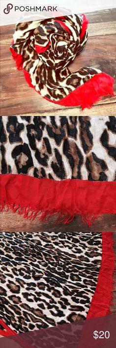 Zara cheetah print scarf/sarong Zara cheetah print scarf that doubles as a sarong. 100% viscose. 77 inches long x 42 inches wide. Zara Accessories Scarves & Wraps