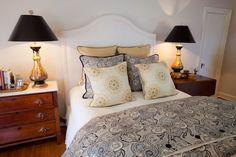 Beautiful Bedroom by Mary Carol Garrity. Serene Bedroom, Beautiful Bedrooms, Dream Bedroom, Home Bedroom, Master Bedroom, Bedroom Decor, Bedroom Ideas, Decorating Blogs, Interior Decorating