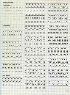 Cross Stitch Boarders, Cross Stitch Charts, Cross Stitch Designs, Cross Stitching, Cross Stitch Embroidery, Cross Stitch Patterns, Paper Embroidery, Embroidery Patterns, Fair Isle Knitting Patterns