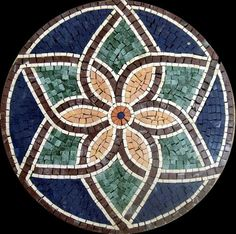 Our mosaic tiles are hand cut from natural marble and mounted on mesh for easy worldwide delivery. Tile Crafts, Mosaic Crafts, Mosaic Art, Mosaic Tiles, Mosaic Stepping Stones, Stone Mosaic, Mosaic Glass, Glass Art, Mosaic Designs